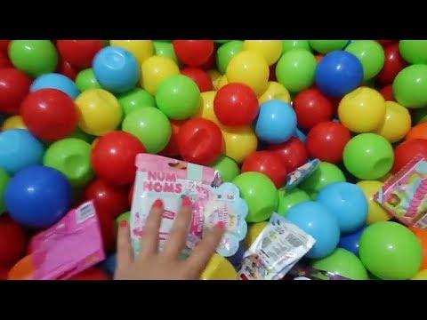 Top Havuzu Kurduk İçine Sürpriz Oyuncak Sakladık Oyuncak Bulma Challenge Oynadık! Bidünya Oyuncak