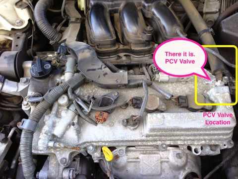 2005 Toyota Avalon Xl Pcv Valve Location Youtube