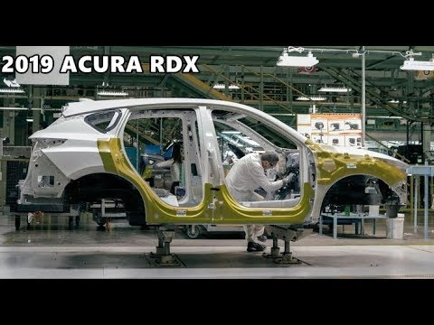 2019 Acura RDX Production Factory in Ohio