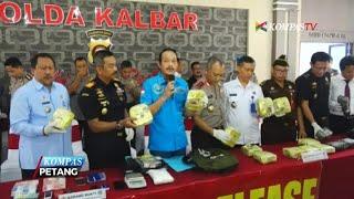 BNN Ungkap Peredaran 17 Kg Sabu, 2 Pelaku Ditembak Mati