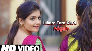 Ishare Tere Karti Nigah Full Song || Feelings Sumit Goswami || इशारे तेरी करती निगाह || AI CREATION