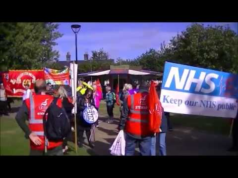another lame protest from unite the union
