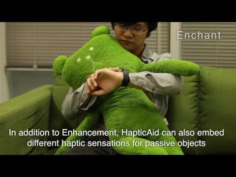 HapticAid: Wearable Haptic Augmentation System for EEE, Haptic Experiences
