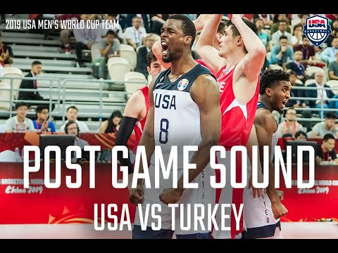 USA REACTS TO WIN OVER TURKEY // POST GAME SOUND