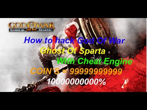 How to hack God of war ghost of sparta with cheat engine.
