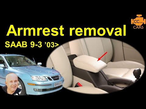 Saab 9-3 Armrest Replacement | Saab 9-3 Centre Console