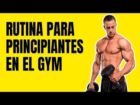 Rutina Para Principiantes En El GYM | Ser Fitness 💪