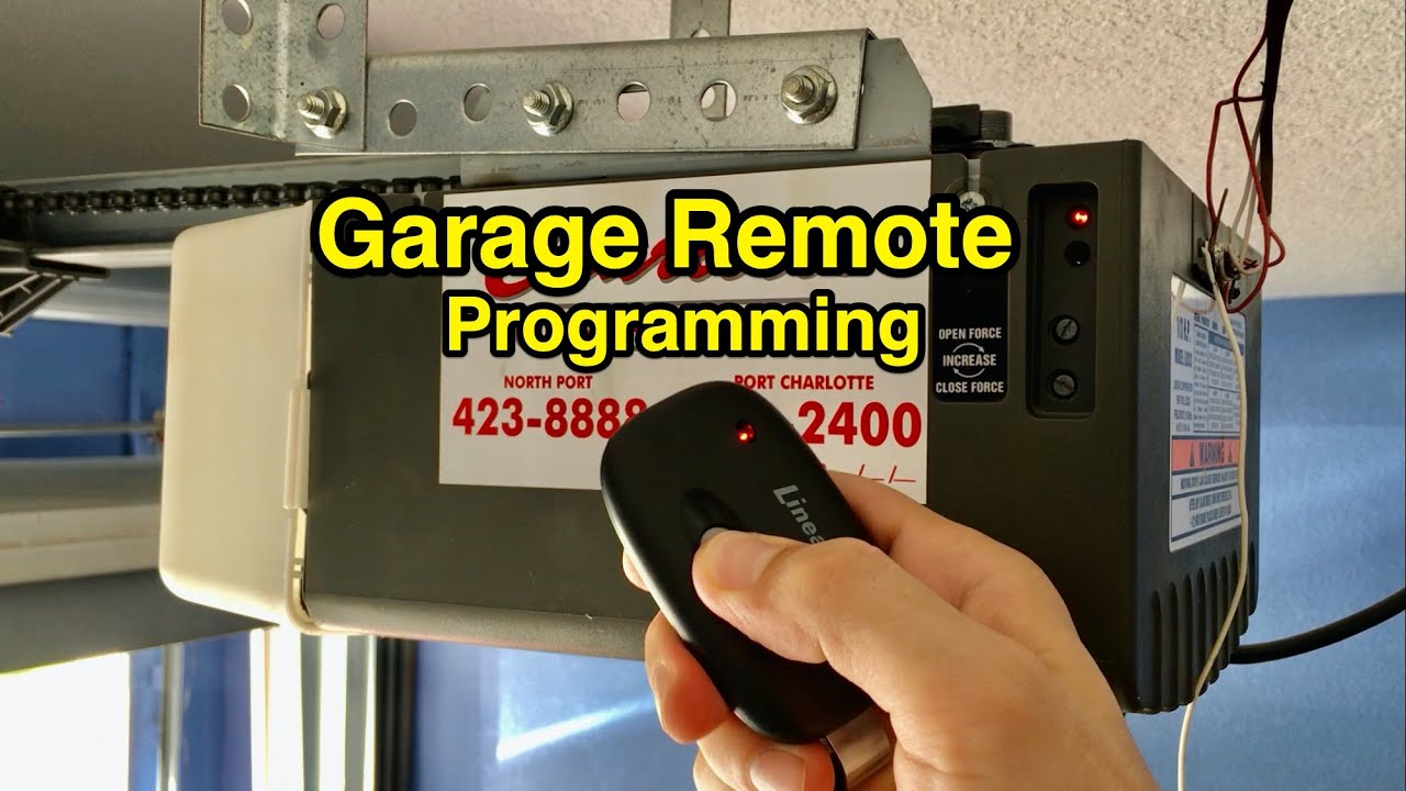 How To Program Key Chain Garage Door Opener Garage Door