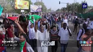 """الجيش السوداني يعلن """"اقتلاع"""" نظام البشير واحتجازه """"في مكان آمن""""  - (11-4-2019)"""