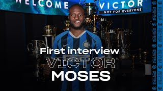 VICTOR MOSES | Exclusive first Inter TV Interview | #WelcomeVictor! 🎙️⚫️🔵 [SUB ITA]