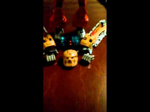 Bionicle kanohi review:Blaze