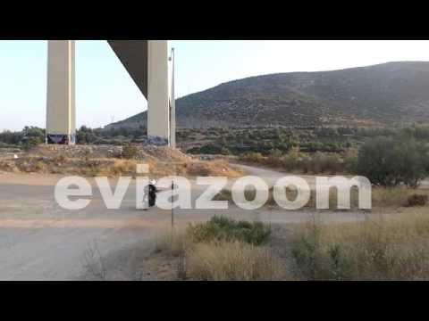 Χαλκίδα: Απειλούσε επί 11 ώρες να πέσει από γέφυρα (video)