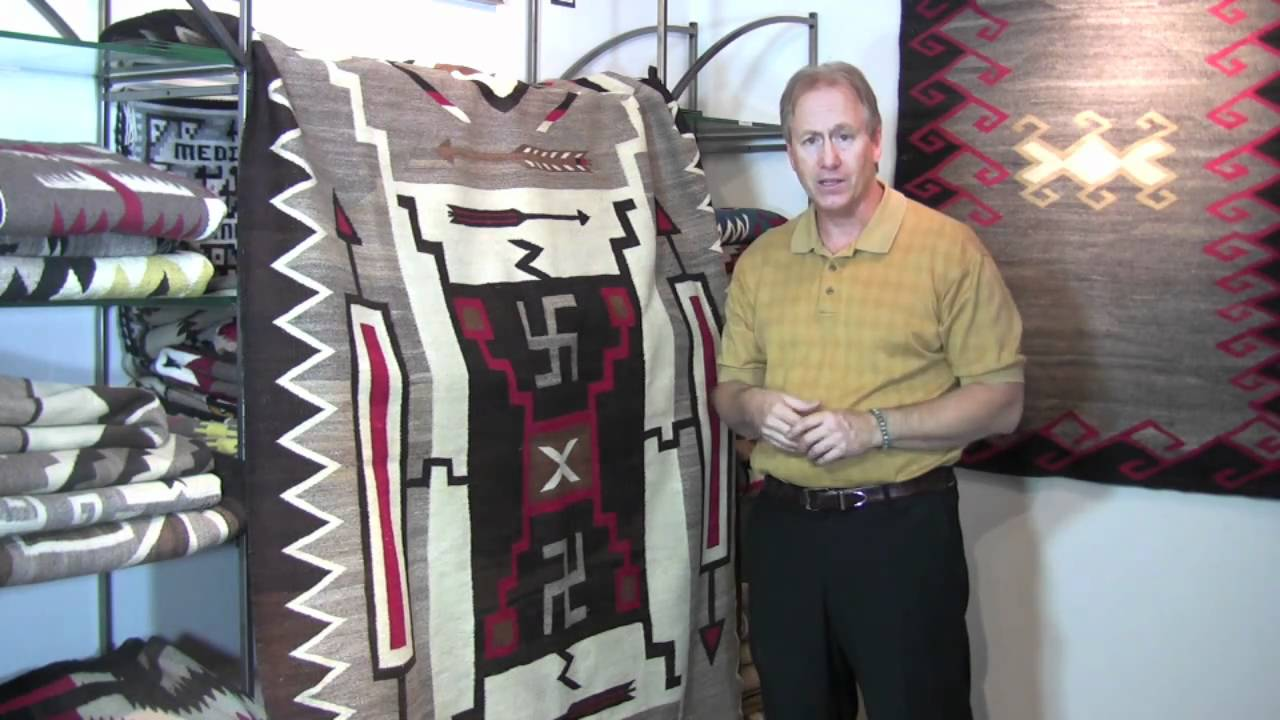 Storm Patterns Navajo rugs from the Crystal trading post