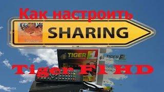 Як налаштувати sharing для Tiger F1 HD, OpenFox X6