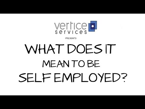 What does it mean to be Self Employed? HMRC self employment tax explained