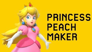 Princess Peach Maker - Super Mario Maker Mod