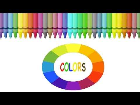 Sing Along Colors Song - Learn your colors