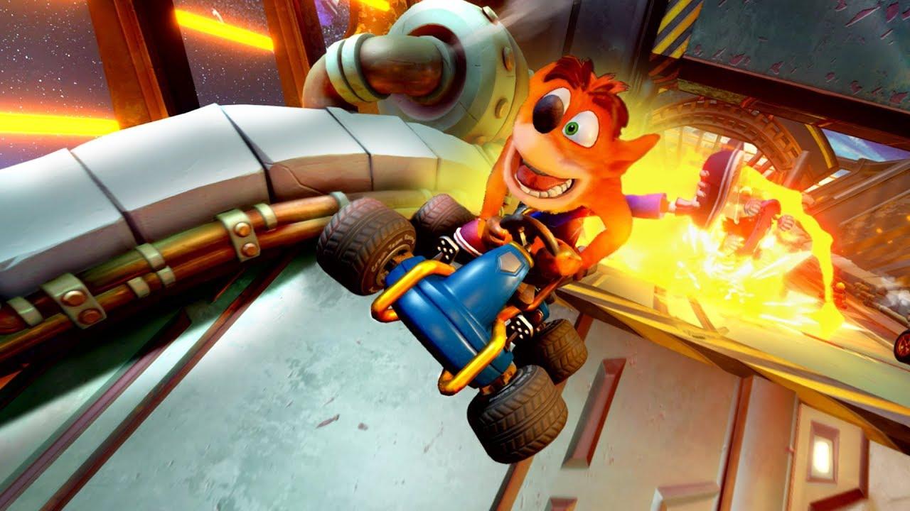 Crash Team Racing Nitro Fueled mit Top Wertungen