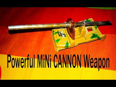 How To Make A Powerful Match CANNON || DIY Powerful Weapon At Home