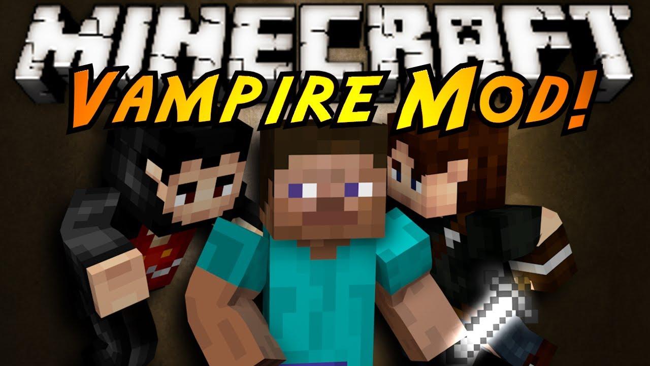 Minecraft mod showcase vampires youtube