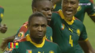 CAN 2017 Cameroon vs Guinea Bissau 2 -1 Highlights  http://africafrique.com