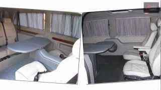 видео Отделка салона Mercedes Viano. Тюнинг микроавтобуса мерседес, установка дивана в микроавтобус. Мерседес Виано тюнинг салона.