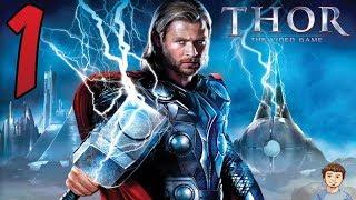 THOR Video Game Gameplay Walkthrough - PART 1 - God of Thunder