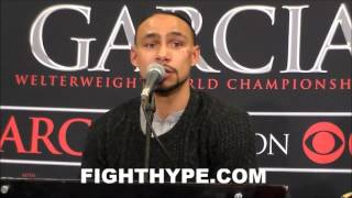 KEITH THURMAN VS. DANNY GARCIA FULL OFFICIAL POST-FIGHT PRESS CONFERENCE