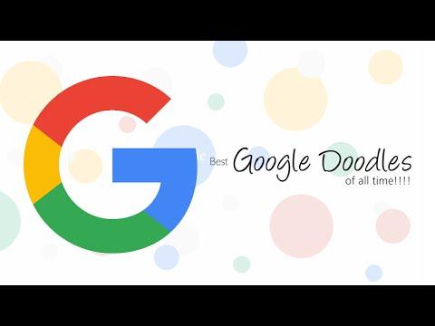 Best Google Doodles Of All Time...!!!