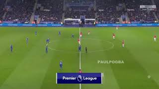 Leicester vs Man utd 2-2 all goal and highlight EPL 24/12/17