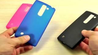 оБЗОР: Классный Силиконовый Чехол-Накладка для LG G4c H522y