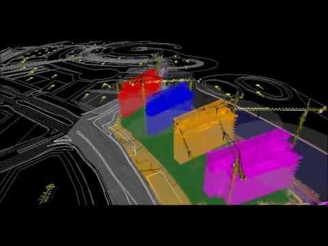 Construction Logistic Planning using NavisWorks