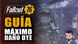 Guía - MÁXIMO DAÑO para armas Dos Tiros Explosivos - Fallout 76 - Antes del Nerf
