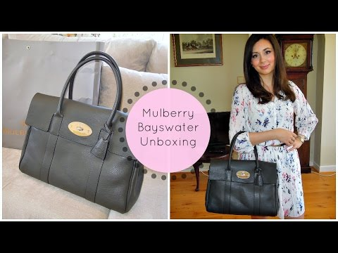 Mulberry Bayswater Handbag Unboxing