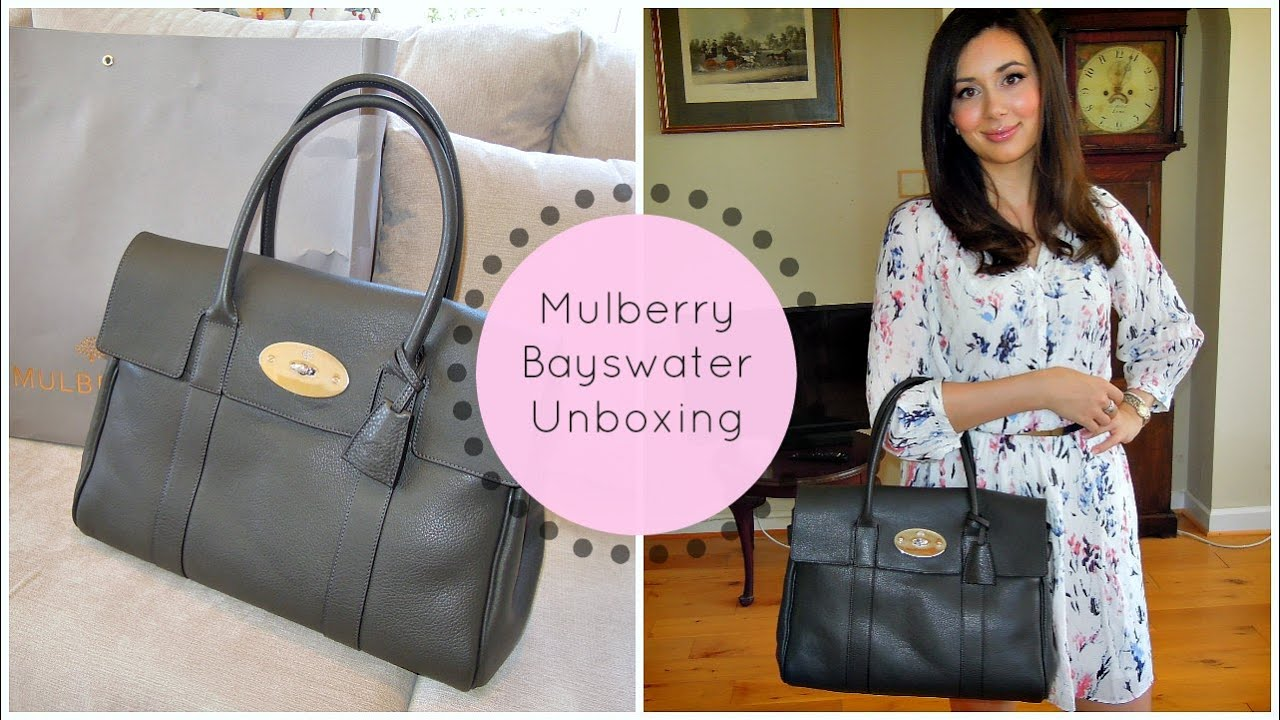 Mulberry Bayswater Handbag Unboxing