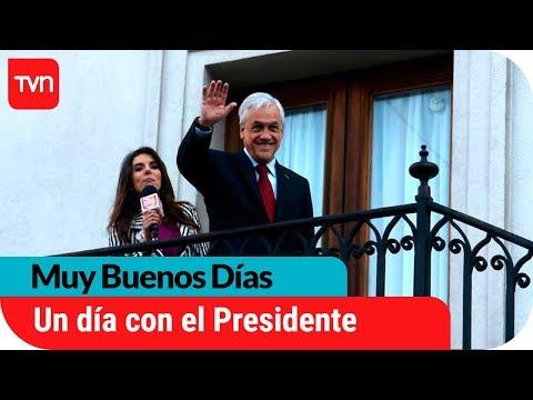 Presidente Sebastián Piñera nos abre las puertas de La Moneda | Muy buenos días