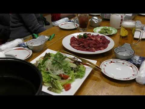 冬の八ヶ岳別荘暮らし「馬すき焼き」楽ちの倶楽部新年会