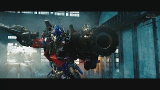 Transformers 2 (2009) - Optimus vs Megatron, Grindor and Starscream -  Only Action [4K]