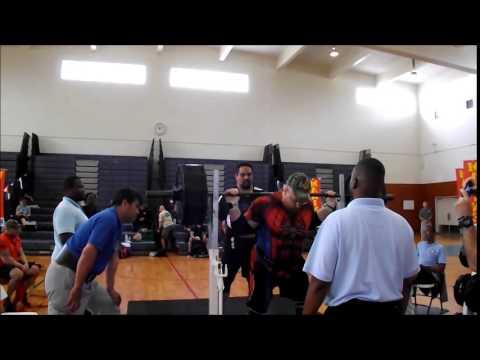 Camp Schwab Powerlifting Meet - Squat (365, 405) - Okinawa