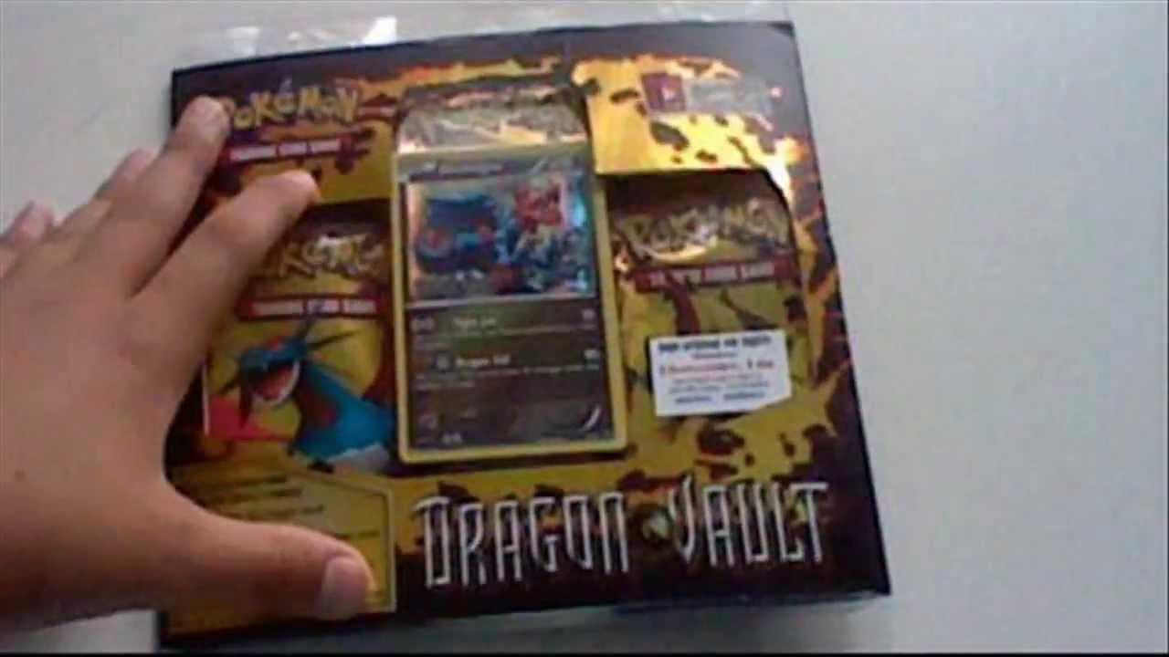Pokemon Trading Card Game Dragon Vault!