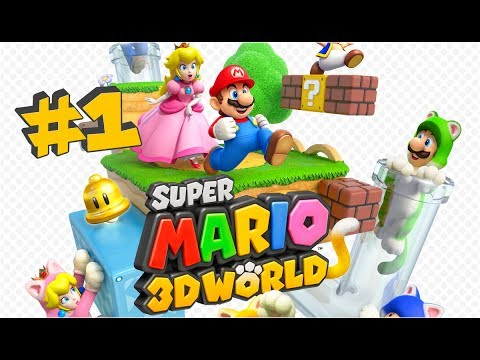 Super Mario 3d World Let S Play Fr Episode 1 Monde 1 Partie 1