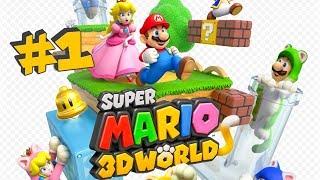 Super Mario 3D World - Let's play FR - Episode 1 (Monde 1 - Partie 1)