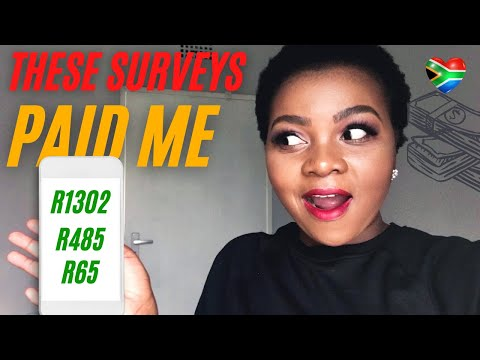 Legit Paid Surveys Available In South Africa (make money online)