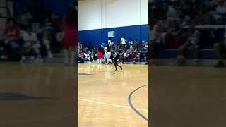 Noah Hosley playing Dwight Harris Basketball 7-22-2017