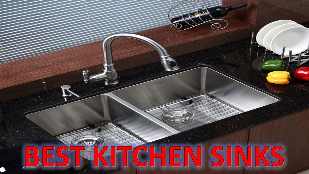best kitchen sink unpainted cabinets sinks 2017 top 5 stainless steel youtube