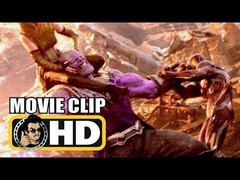 AVENGERS INFINITY WAR Extended Thanos Fight Scene & B-Roll (2018) Marvel