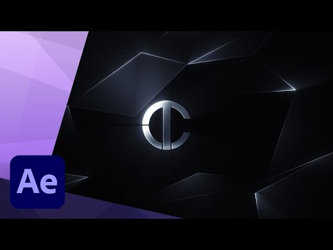 How To Create a FUTURISTIC LOGO REVEAL INTRO ANIMATION in AFTER EFFECTS TUTORIAL