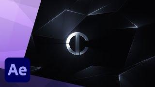 Het Maken van een Futuristische Logo Onthullen Intro animatie in After Effects - TUTORIAL