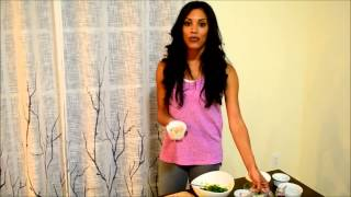 Healthy Cooking- Avocado Chicken Salad & Mango Taco With Fitness Kitten Taylor Walker By Tony Thomas