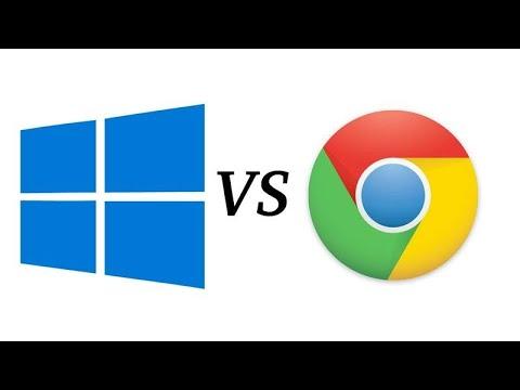 Сравнительный тест Windows OS против Chrome OS